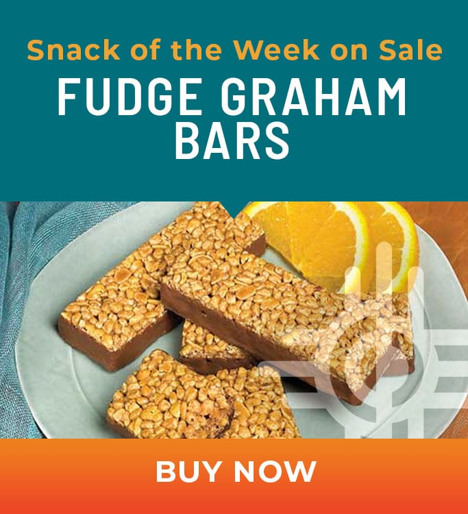 Fudge Graham Bars on sale October 19-25